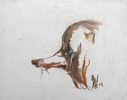 Obraz do salonu artysty Bożena Wahl pod tytułem Rudzielec
