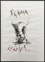 Obraz do salonu artysty Bożena Wahl pod tytułem Piękna Lulusia