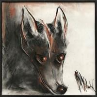 Obraz do salonu artysty Bożena Wahl pod tytułem Lisek