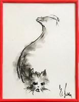 Obraz do salonu artysty Bożena Wahl pod tytułem Kotek - Bez tytułu 5