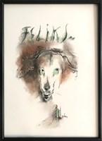 Obraz do salonu artysty Bożena Wahl pod tytułem Feliks