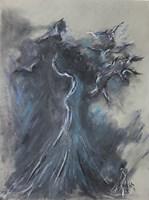 Obraz do salonu artysty Bożena Wahl pod tytułem Kompozcja abstrakcyjna