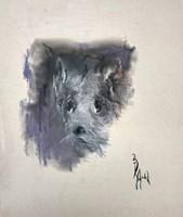 Obraz do salonu artysty Bożena Wahl pod tytułem Portret psa
