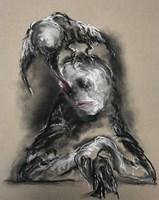 Obraz do salonu artysty Bożena Wahl pod tytułem Portret podwójny