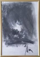 Obraz do salonu artysty Bożena Wahl pod tytułem Portret psa - z cyklu portrety zwierząt 039