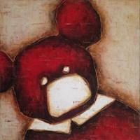 Obraz do salonu artysty Wojciech Odsterczyl pod tytułem Misiek pierwszy