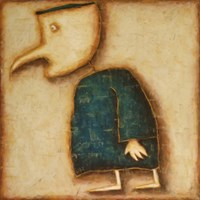 Obraz do salonu artysty Wojciech Odsterczyl pod tytułem Władek
