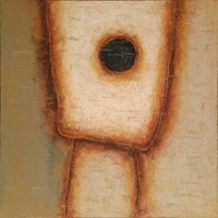 Living room painting by Wojciech Odsterczyl titled Irrelevant 1