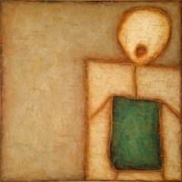 Grafika do salonu artysty Wojciech Odsterczyl pod tytułem W kącie