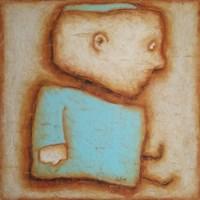 Obraz do salonu artysty Wojciech Odsterczyl pod tytułem Dawidek