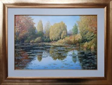 Obraz do salonu artysty Zbigniew Kopania pod tytułem Pejzaż