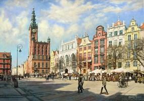 Obraz do salonu artysty Zbigniew Kopania pod tytułem Rynek