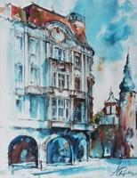 Obraz do salonu artysty Adam Papke pod tytułem Bydgoszcz 1