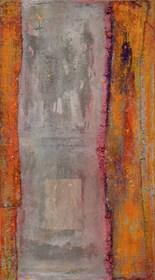 Obraz do salonu artysty Piotr Trusik pod tytułem okno wewnętrznego na zewnętrzne