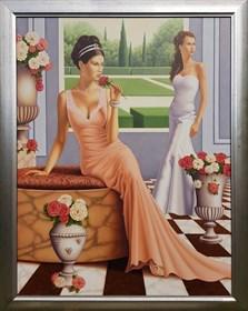 Obraz do salonu artysty Tomasz Kostecki pod tytułem Bez tytułu