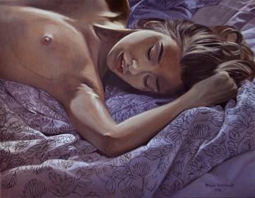 Obraz do salonu artysty Mateusz Dolatowski pod tytułem Odpoczynek
