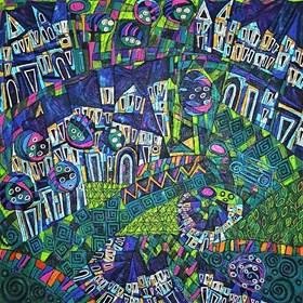 Obraz do salonu artysty Rozalia Wójcik pod tytułem Wstaje dzień