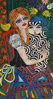 Obraz do salonu artysty Rozalia Wójcik pod tytułem Nie obawiaj się mnie