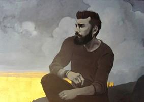 Obraz do salonu artysty Jakub Godziszewski pod tytułem W chmurach