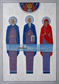 Obraz do salonu artysty Mikołaj Malesza pod tytułem Powrót