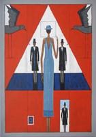 Obraz do salonu artysty Mikołaj Malesza pod tytułem Dystans