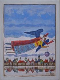 Obraz do salonu artysty Mikołaj Malesza pod tytułem Bez tytułu 1