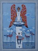 Obraz do salonu artysty Mikołaj Malesza pod tytułem Bez tytułu 2