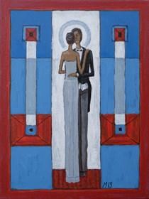 Obraz do salonu artysty Mikołaj Malesza pod tytułem Bez tytułu 3