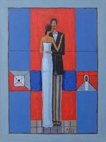Obraz do salonu artysty Mikołaj Malesza pod tytułem Bez tytułu 4