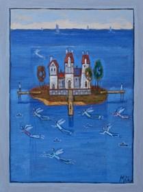 Obraz do salonu artysty Mikołaj Malesza pod tytułem Bez tytułu 5
