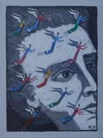 Obraz do salonu artysty Mikołaj Malesza pod tytułem Bez tytułu 7
