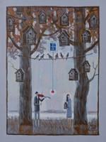Obraz do salonu artysty Mikołaj Malesza pod tytułem Bez tytułu 10