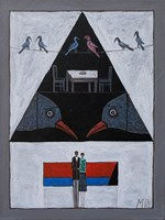 Obraz do salonu artysty Mikołaj Malesza pod tytułem Bez tytułu 12