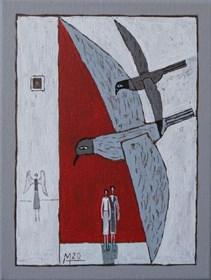 Obraz do salonu artysty Mikołaj Malesza pod tytułem Bez tytułu 13