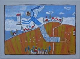 Obraz do salonu artysty Mikołaj Malesza pod tytułem Bez tytułu 15