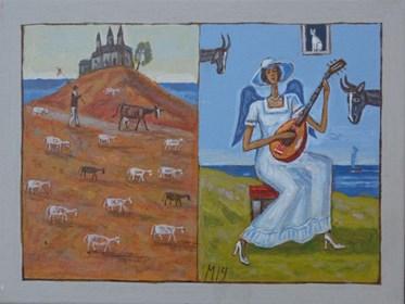 Obraz do salonu artysty Mikołaj Malesza pod tytułem Bez tytułu 16