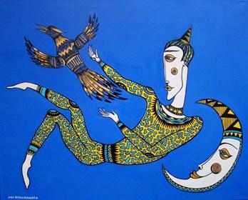 Obraz do salonu artysty Lili Fijałkowska pod tytułem Wolność