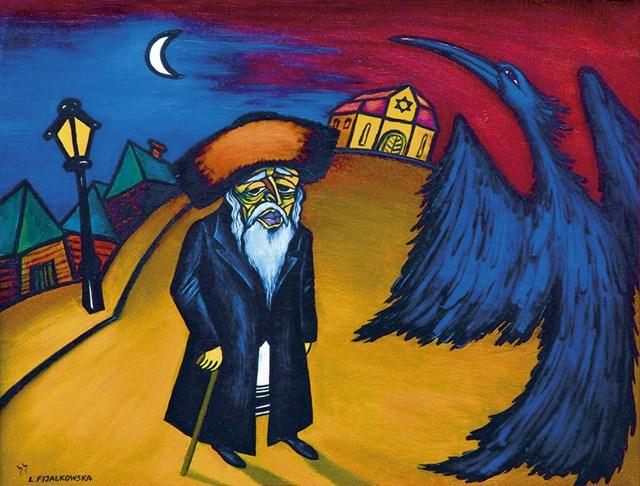 Obraz do salonu artysty Lili Fijałkowska pod tytułem Stary Hasyd