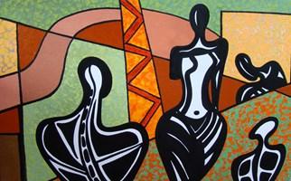 Obraz do salonu artysty Lili Fijałkowska pod tytułem Misterium 2