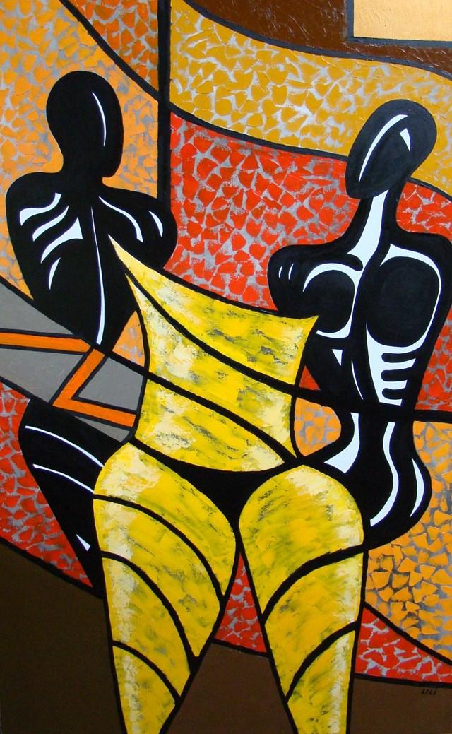 Obraz do salonu artysty Lili Fijałkowska pod tytułem Misterium 3