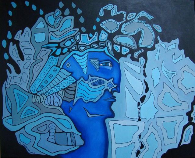 Obraz do salonu artysty Lili Fijałkowska pod tytułem Przeznaczenie