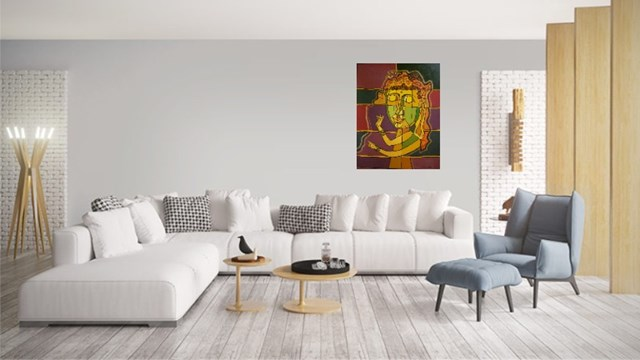 Buddha's dream - visualisation by Lili Fijałkowska