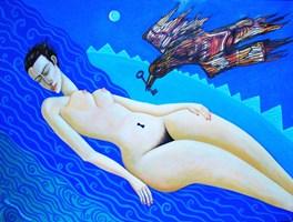 Obraz do salonu artysty Lili Fijałkowska pod tytułem Sen