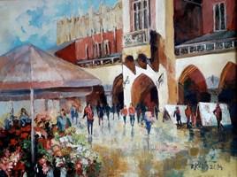 Obraz do salonu artysty Renata Kulig-Radziszewska pod tytułem Puls miasta