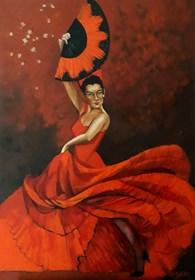Obraz do salonu artysty Renata Kulig-Radziszewska pod tytułem Bolero