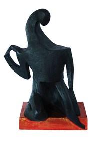 Rzeźba do salonu artysty Wiesław Fijałkowski pod tytułem Postać 1
