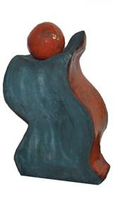 Rzeźba do salonu artysty Wiesław Fijałkowski pod tytułem Tańczące formy