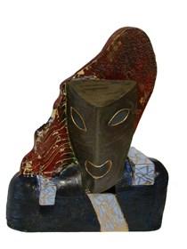 Rzeźba do salonu artysty Wiesław Fijałkowski pod tytułem Melpomena