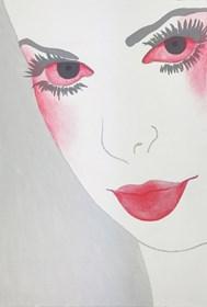 Obraz do salonu artysty Viola Tycz pod tytułem Ze śmiercią jej do twarzy
