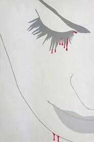 Obraz do salonu artysty Viola Tycz pod tytułem Ze śmiercią jej do twarzy IX